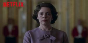 Rainha de The Crown, série da Netflix, streaming que lidera o número de assinantes no Brasil