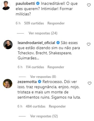 """Caio Blat detona Mário Frias por posar com armas: \""""Falência da Cultura\"""""""