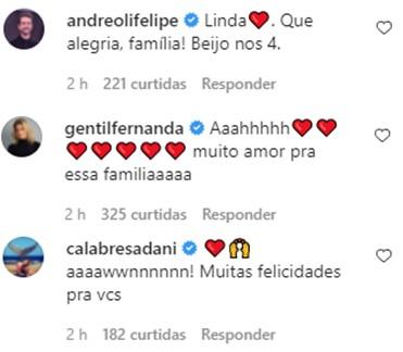 Junior Lima anuncia nascimento da filha e mostra rostinho pela primeira vez; confira