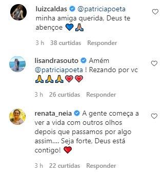 """Patrícia Poeta desabafa após cirurgia de emergência: \""""Rosto desfigurado\"""""""