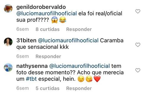 Lúcio Mauro Filho revela antiga profissão de Christina Rocha e choca a web