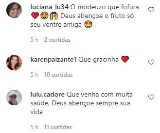 """Andressa Urach compartilha ultrassom do filho: \""""O papaizinho sempre presente\"""""""
