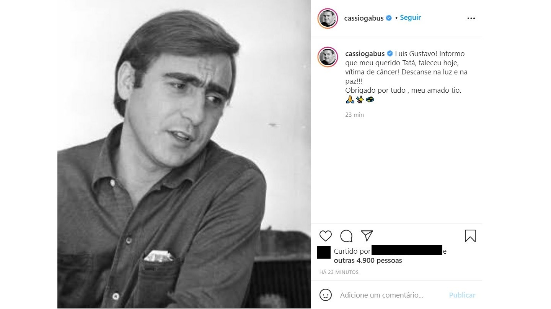 Morre Luis Gustavo, aos 87 anos