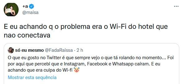 Famosos ironizam queda do WhatsApp, Facebook e Instagram; empresa se manifesta