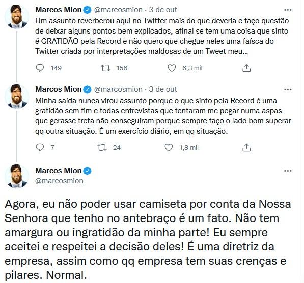 Marcos Mion revela detalhes do seu camarim na Globo