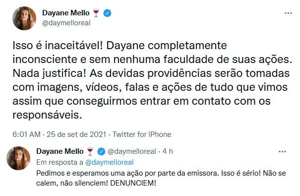 A Fazenda 2021: Nego do Borel é acusado de forçar sexo com Dayane e Record se posiciona