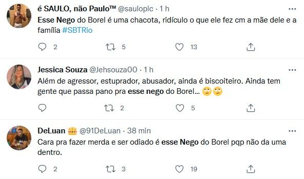 Nego do Borel vira o assunto da web após reaparecer em motel