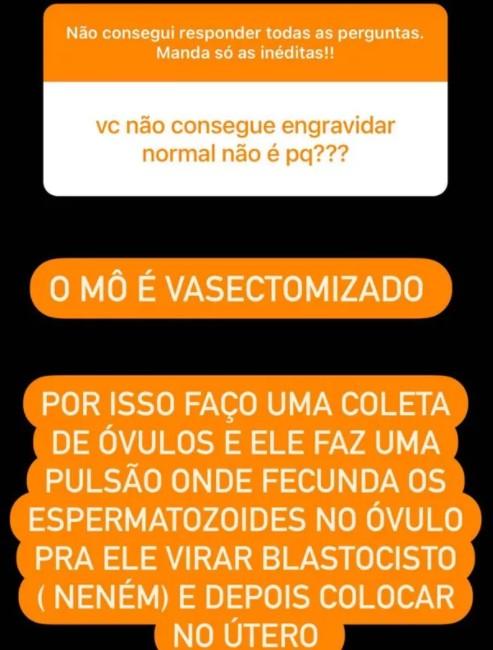 Graciele Lacerda explica como pretende engravidar de Zezé Di Camargo após vasectomia