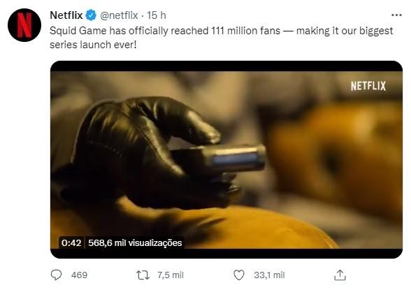 Round 6 bate recorde e vira a série mais vista da história da Netflix