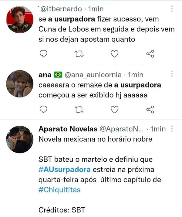 SBT exibe