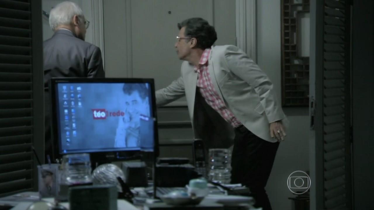 Império: Silviano procura Téo Pereira e relata passado inusitado de Comendador