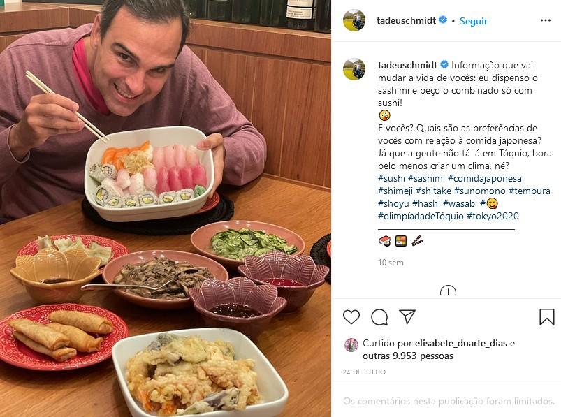Tadeu Schmidt por trás das câmeras: De celular encapado a treta com o Corinthians