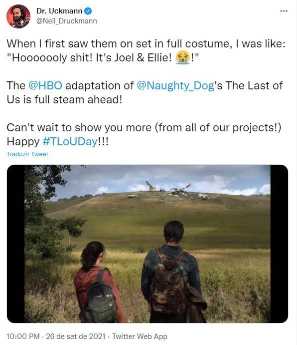 HBO libera primeira imagem da série The Last of Us