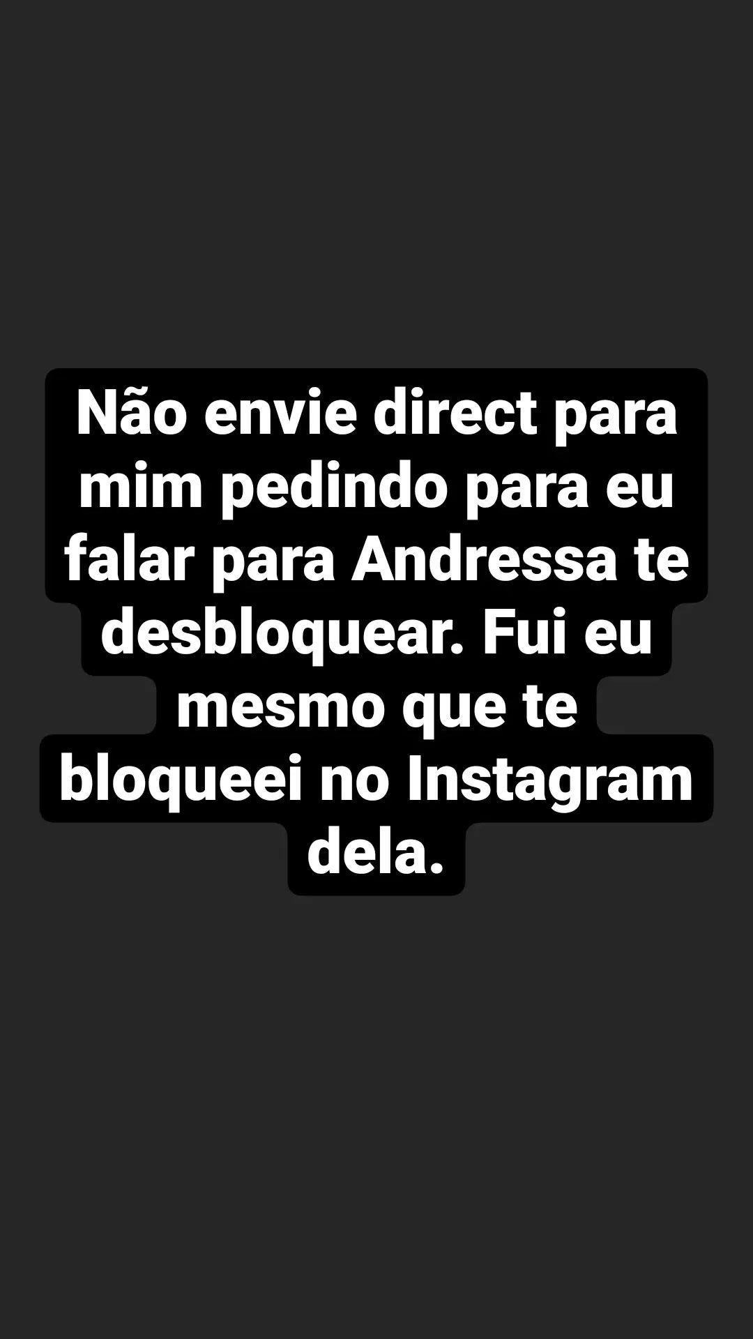 Marido de Andressa Urach assume as redes sociais da modelo e bloqueia seguidores