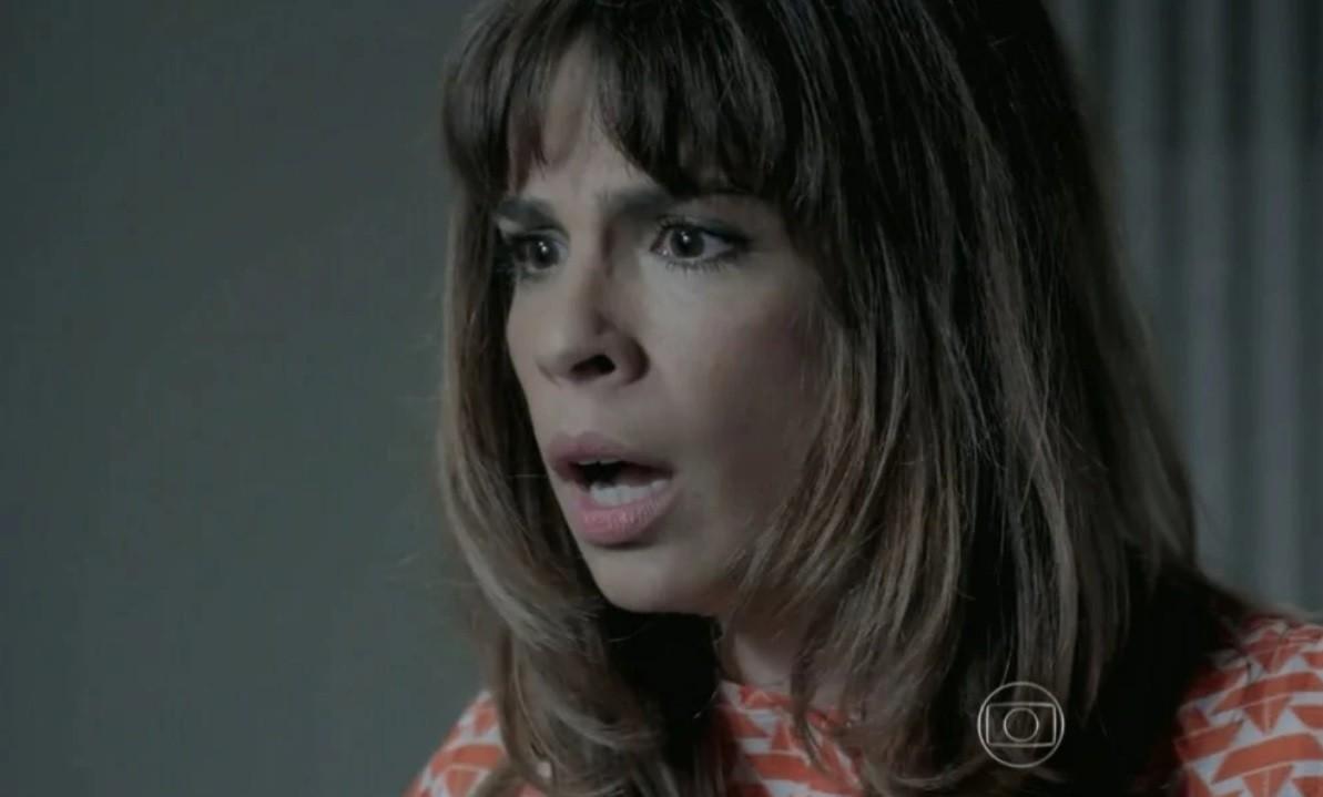 Império: Bruna ameaça entregar a mãe e o amante à polícia