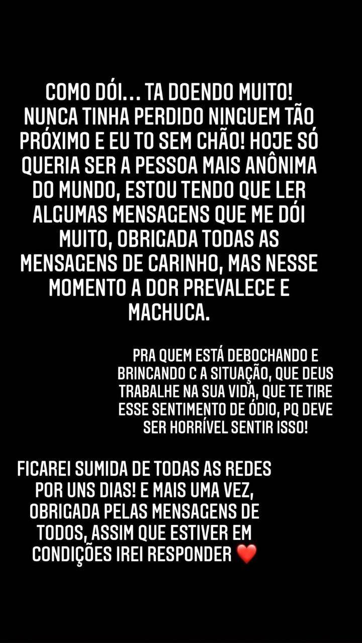 """Virgínia Fonseca lamenta morte do pai, aos 72 anos: \""""Estou sem chão\"""""""