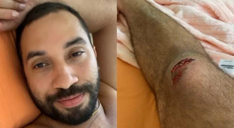 Gil do Vigor sofre acidente nos Estados Unidos