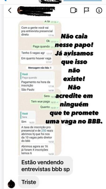 Boninho denuncia golpe que oferece inscrição falsa no BBB por R$ 250