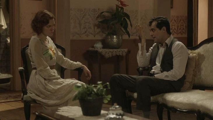 Cena de Éramos Seis com Zeca e Olga
