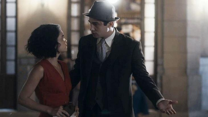 Carlos e Inês em cena de Éramos Seis