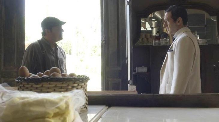Em Éramos Seis, Afonso e João frente a frente na venda