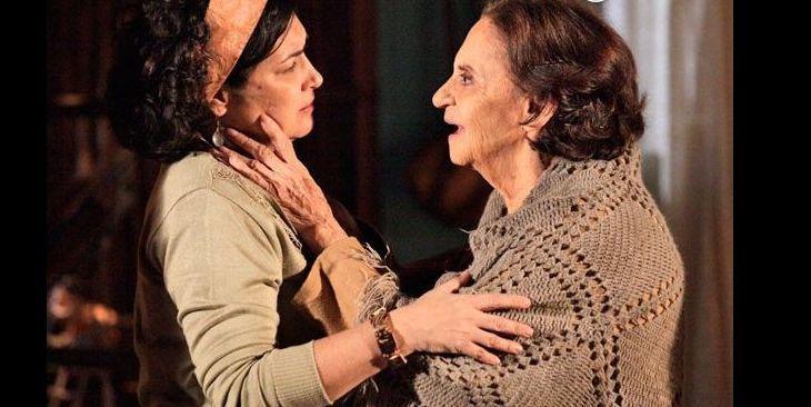 Maria Adília e Veridiana se abraçam emocionadas