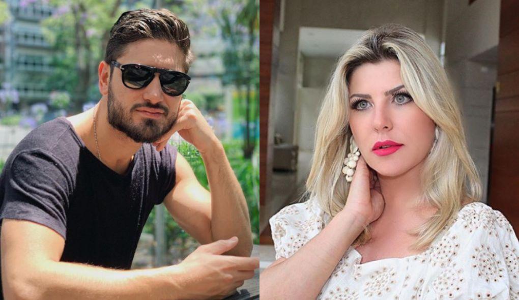 Daniel Rocha e Iris Stefanelli