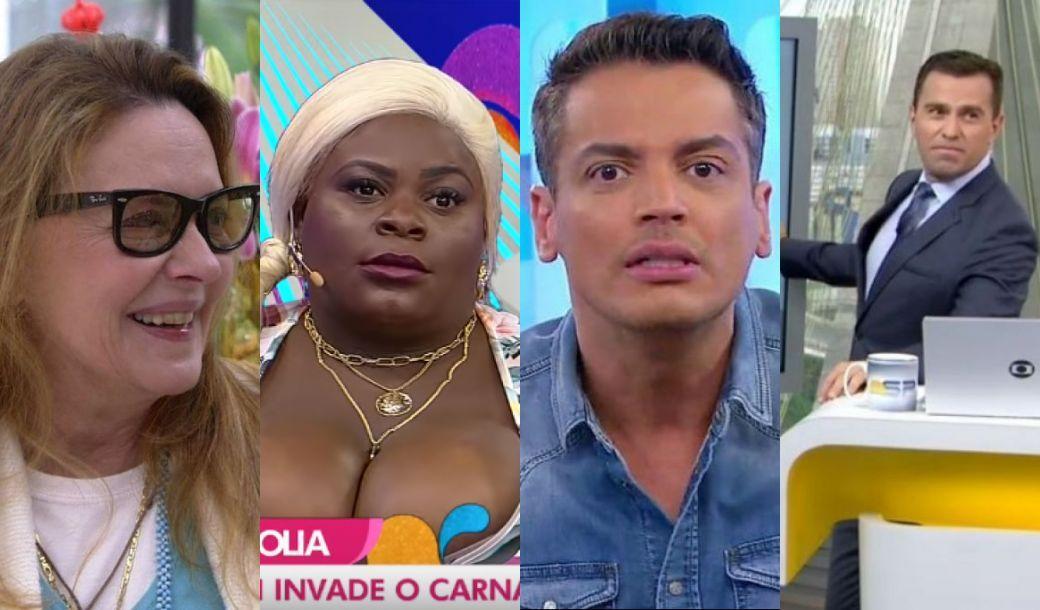 Maria Zilda, Jojo Todynho, Leo Dias e Rodrigo Bocardi