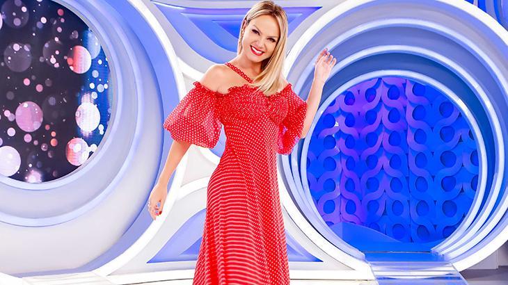 Eliana no programa do último domingo