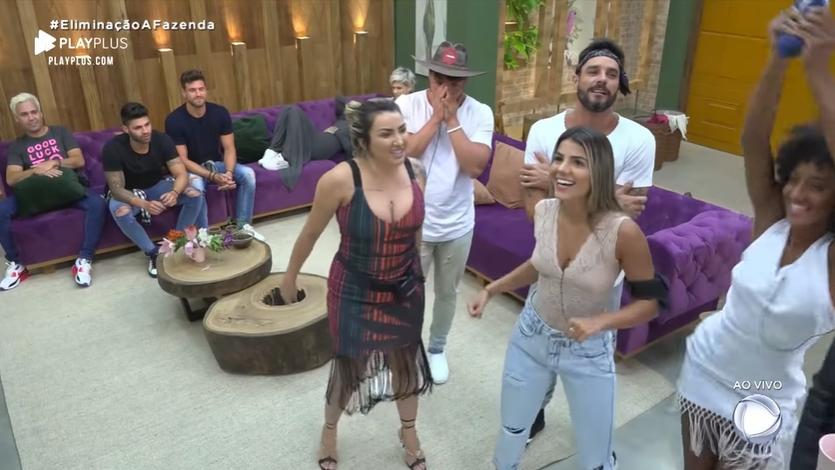 Equipes chegaram ao fim  no reality show A Fazenda 2019