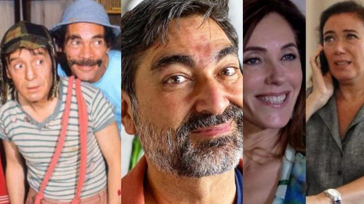 Chaves, Zeca Camargo e Fina Estampa
