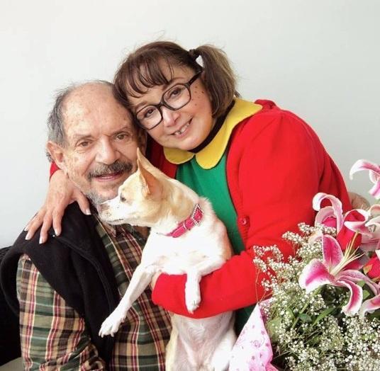 Marido de Chiquinha morre no México, aos 85 anos