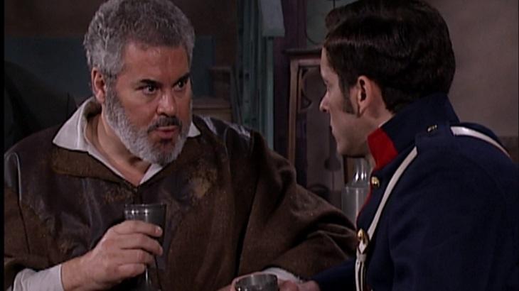 Cena de A Escrava Isaura com Martinho
