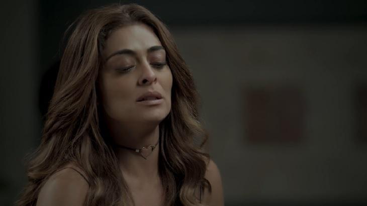 Cena de A Força do Querer com Bibi Perigosa chorando