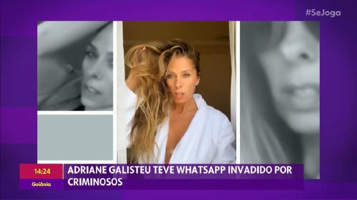 """Adriane Galisteu desabafa sobre golpe no WhatsApp: \""""Uma amiga deu R$ 10 mil\"""""""