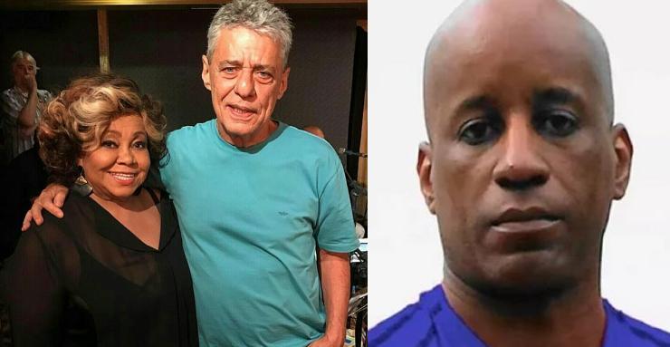 Alcione, Chico Buarque e Sérgio Camargo