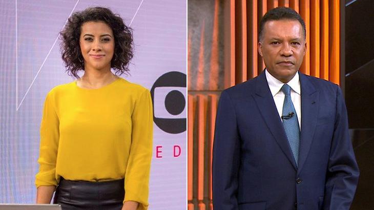 Aline Midlej e Heraldo Pereira