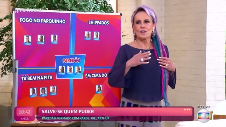 Ana Maria Braga comentando sobre o BBB21
