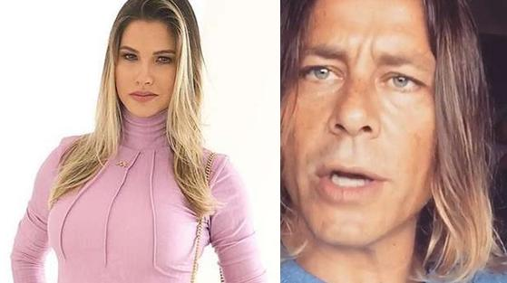 Andressa Suita e Theo Becker