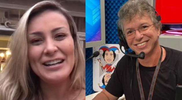Andressa Urach e Boninho