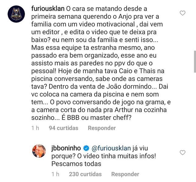 """BBB21: Boninho diz que família de Caio tentou passar informações em vídeo: \""""Pescamos todas\"""""""