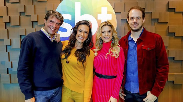 """SBT estreia \""""Bake Off Brasil"""" e Nadja Haddad cutuca: \""""Não humilha o candidato\"""""""