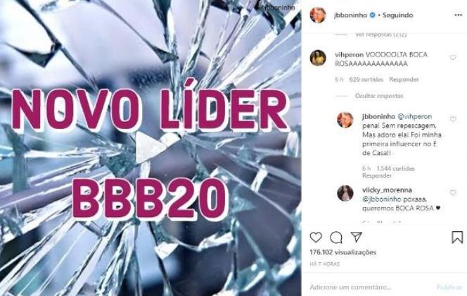 BBB20: Boninho nega possibilidade de repescagem e elogia Bianca