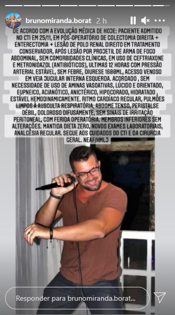 Borat de Amor & Sexo está em estado grave após ser baleado por policial