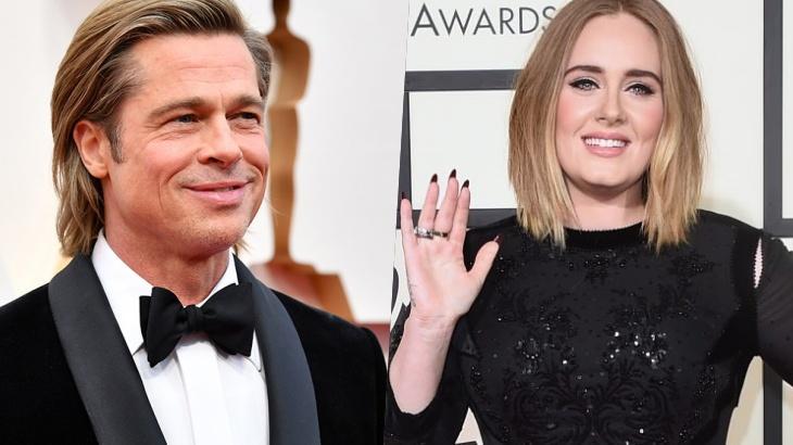 Brad Pitt e Adele