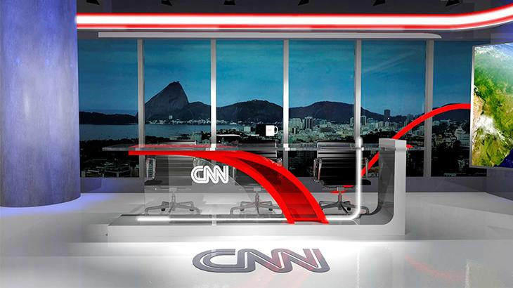 CNN Brasil revela primeiro cenário do Rio e impressiona