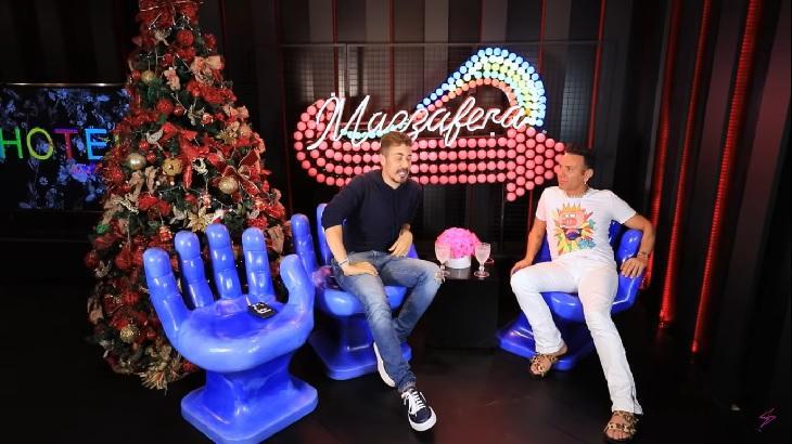 Carlinhos Maia durante entrevista a Matheus Mazzafera