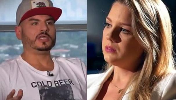 Carlinhos Mendiga e Aline Hauck