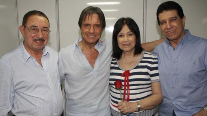 Carlos Alberto, Roberto Carlos, Norma e Lauro
