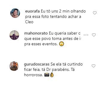 """Em premiação, Cleo Pires aparece irreconhecível e fãs detonam: \""""Tá horrorosa\"""""""